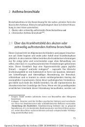 2 Asthma bronchiale - Verlag Peter Irl