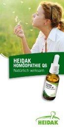 heidak homöopathie q6