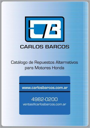 Repuestos para Motores Honda - CARLOS BARCOS