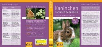 Hausapotheke für Kaninchen