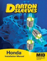 Darton Sleeves Repl Cyl Sleeve LS1//LS6 3.890 Bore 4.180 OD 300-024