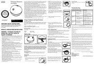 lea todas las instrucciones antes de usar advertencia - HoMedics, Inc.