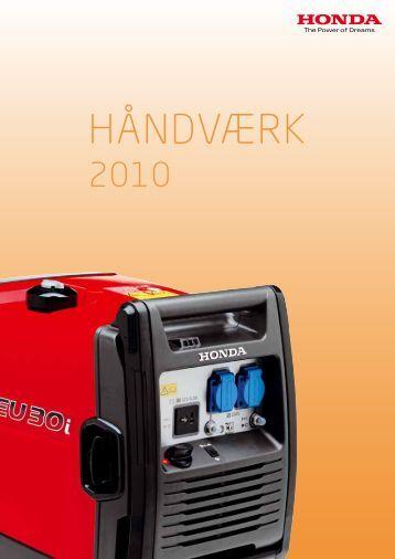 HÅNDVÆRK 2010 katalog - klik her - El fra solen