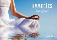 HoMedics Catalogue UK 2012.indd - vzdy.cz