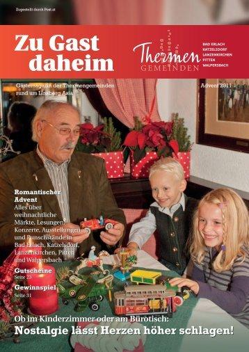 Ob im Kinderzimmer oder am Bürotisch: Nostalgie lässt ... - Katzelsdorf