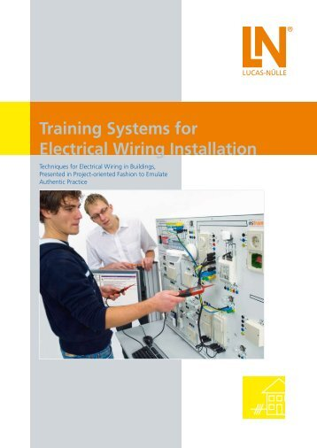 Training Systems for Electrical Wiring Installation - techno volt