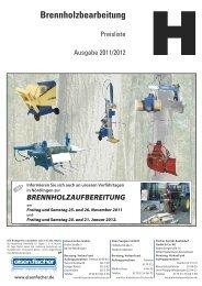 Preisl. Brennhb. WE-. IIIgr. - Eisen-Fischer GmbH