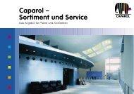 Sortiment und Service - Caparol