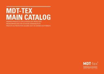 MDT-TEX MAIN CATALOG