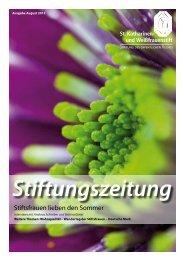 Stiftungszeitung - ronald wissler   visuelle kommunikation