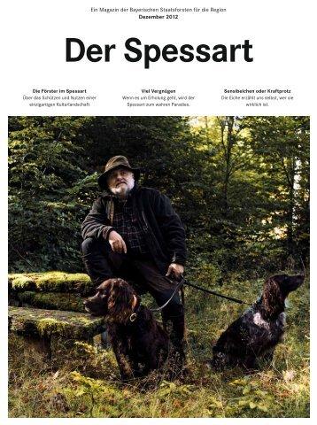 """""""Der Spessart"""" (PDF, 3,30 MB) - Bayerische Staatsforsten"""