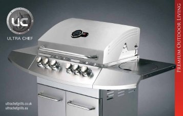 P remiu m Outdoo r Livin g - ULTRA CHEF grills, accessories and ...