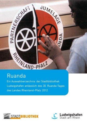 Ruanda-Tag des Landes Rheinland-Pfalz 2012 (pdf - Ludwigshafen