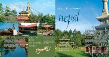 Nepal Himalaya Pavillon in Wiesent - nepal haus gmbh