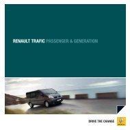 RENAULT TRAFIC PASSENGER & GENERATION - RENAULT Griesel