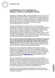 Qualitätsoffensive für Tragebügel von Bugaboo Cameleon und