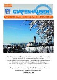 JAHR 2012 ! - Gemeinde Grafenhausen