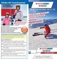 Kinder-Ski-Tauschsystem - Home Intersport Kober