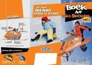 Ski-bockerl Ski-bockerl auf abfahrt abfahrt