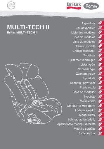 MULTI-TECH II - Britax