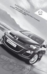 M{zd{ cx-7 - Mazda