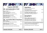 Program m 2003/2004 Ski- und Snowboardkurse Kinder Ski- und ...
