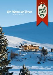 Zimmertypen & Preise als PDF - Heidi-Hotel