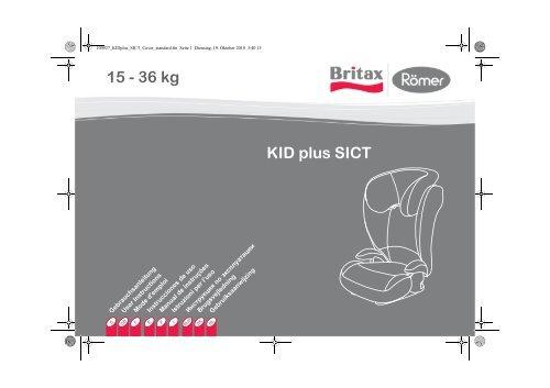 KID plus SICT 15 - 36 kg - Britax