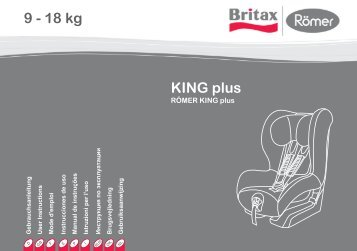 KING plus 9 - 18 kg - Britax