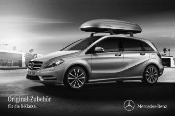 Original-Zubehör für die B-Klasse. Preisliste. - Daimler