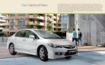 Civic Hybrid auf Mass - Honda