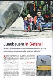 Jungbauern in Gefahr! - Swissmilk