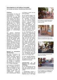 Fahrradparken in der Soltauer Innenstadt (pdf 3,47