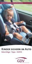 Kinder sichern im Auto - ProSi Unna