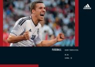 fussball - Web Service Portal - adidas Group