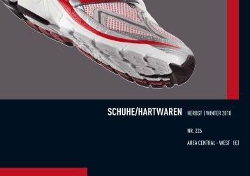 SCHUHE/HARTWAREN HERBST | WINTER 2010 NR ... - SportXshop