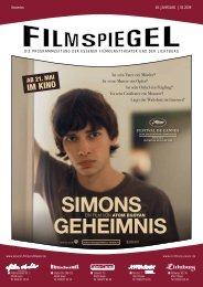 SIMONS GEHEIMNIS - Essener Filmkunsttheater GmbH