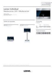 Loewe Individual Mediacenter DR+ / Mediacenter