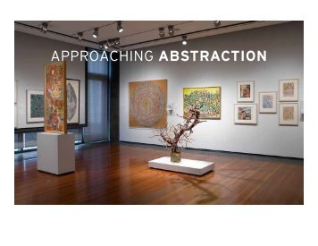 APPROACHING ABSTRACTION - American Folk Art Museum