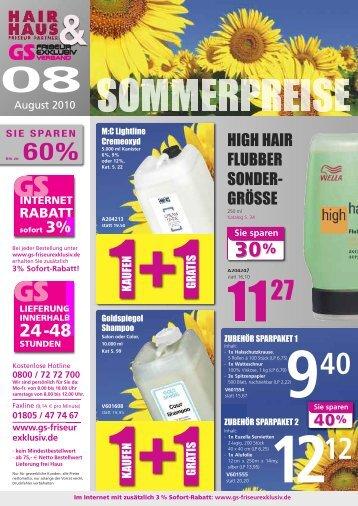 sie sparen - GS Friseur Exklusiv Versand