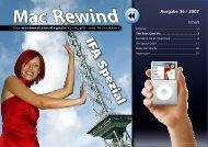 Mac Rewind - Issue 36/2007 - MacTechNews.de - Mac Rewind