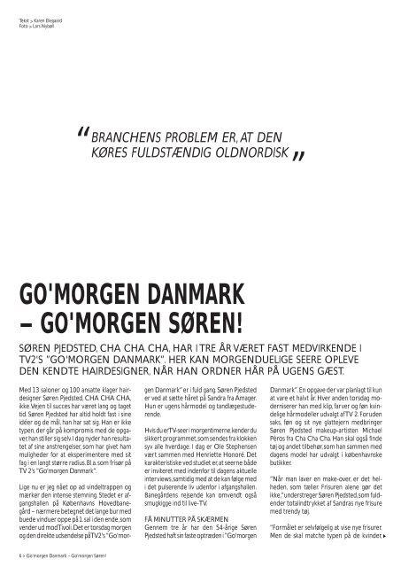 Uffe Buchard - Hair Magazine