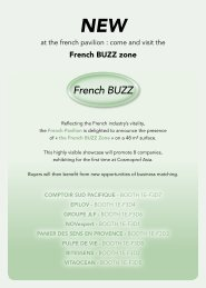 French BUZZ NEW - UBM Asia