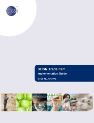 GDSN Trade Item Implementation Guide - GS1