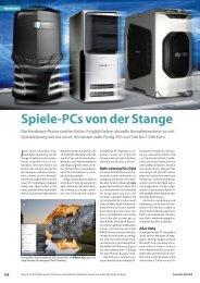 Spiele-PCs von der Stange - GameStar