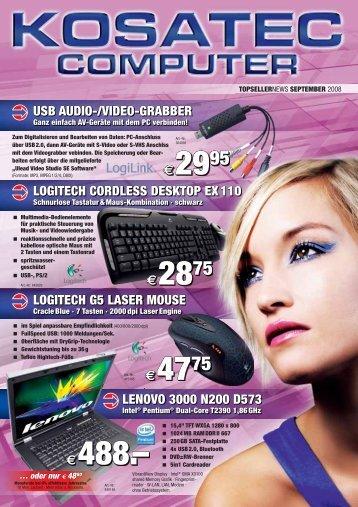 Telefon- und Fax - Kosatec