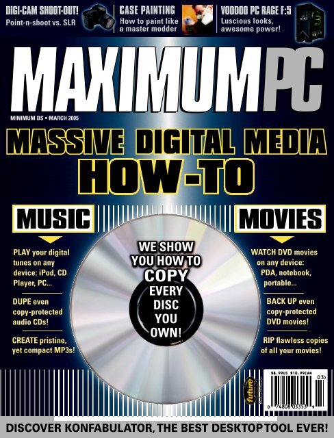 music and movies - Maximum PC