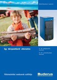 Fűtéstechnikai rendszerek szállítója Egy környezetbarát ... - Buderus