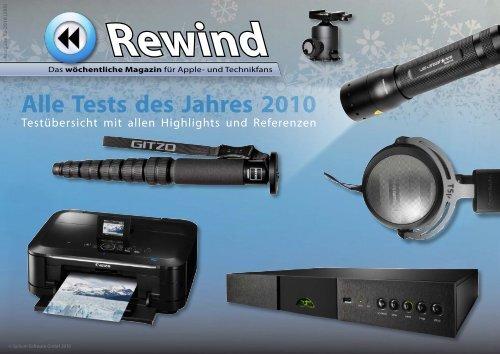 Rewind - Issue 52/2010 (255) - MacTechNews.de - Mac Rewind