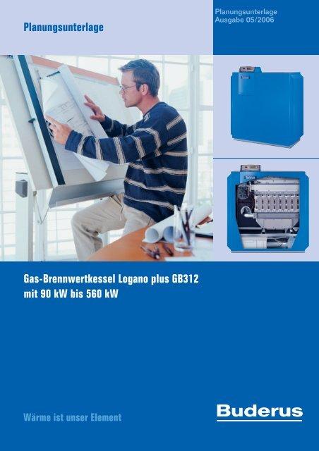 Planungsunterlage_Gas-Brennwertkessel Logano ... - Buderus